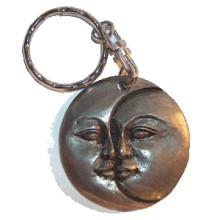 Porte clés Lune et Soleil