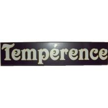Panneau Bois pour loge Tempérance