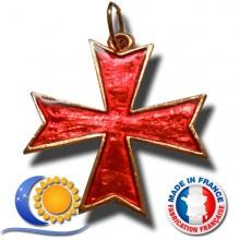 Bijou croix pectorale CBCS croix pattée rentrée