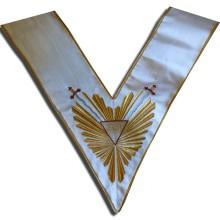 REAA Sautoir 33e degré gloire et glaives fabrication france