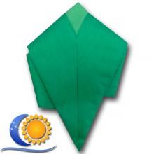 Sautoir Vert uni