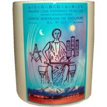 Mug / Tasse personnalisée logo de Loge
