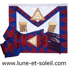 Tablier et Echarpe Compagnon Arche Royale