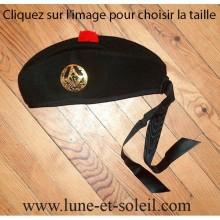 Chapeau de maître style Glengarry