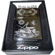 Zippo Véritable, gravure symbolique, personnalisé