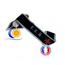 REAA Cordon 30e degré CKH et croix teutonique bordée or Fabrication Française L&S