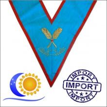 REAA Sautoir brodé fonction officier secretaire Import