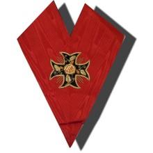 REAA Sautoir 18e degré REAA croix ancrée à 8 pointes Import