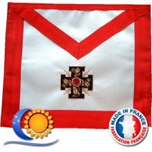 REAA Tablier 18e degrée croix potencée qualité premium