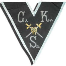REAA Sautoir 30e degré CKS et glaive