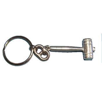 Porte clés Maillet étain