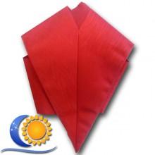 Sautoir rouge uni Import