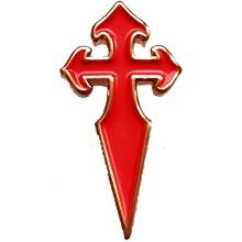 Pins croix de St Jacques de compostelle