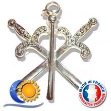RFT Jeu de 11 bijoux officiers