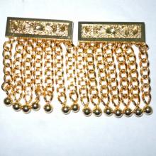 Pendrilles dorées pour tablier