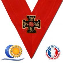 REAA Sautoir 18e degré croix potencée fabrication France