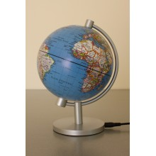 Sphere Terrestre lumineuse 13 cm