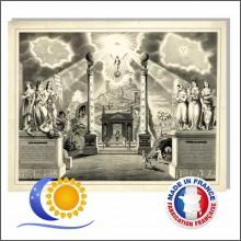 Poster charte Maçonnique