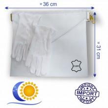 Pack apprenti peau grde taille+ 2 gants