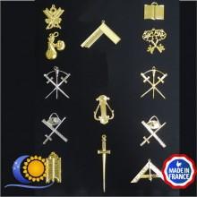 RFT Jeu de 13 bijoux officiers VM inclus