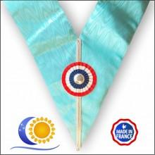 Emulation Sautoir Officier bleu anglais Fabrication France