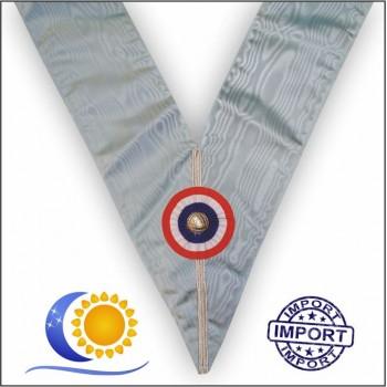 Sautoir Officier Emulation (bleu francais) import
