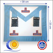 Emulation Tablier de VM/PM (peau) bleu Francais fab. France