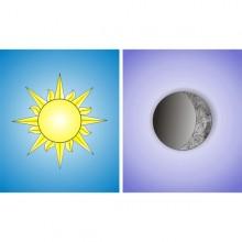 Lune et Soleil pour loge
