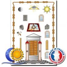 Tableau de loge 1er degré REAA