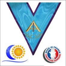 Memphis Misraim Jeu de 9 sautoirs officiers de loge fab. française