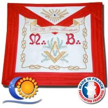 REAA Tablier de VM d'honneur satin, modèle tradition