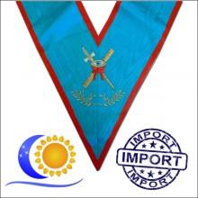 REAA Sautoir brodé fonction expert Import