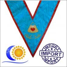 REAA Sautoir brodé fonction hospitalier Import